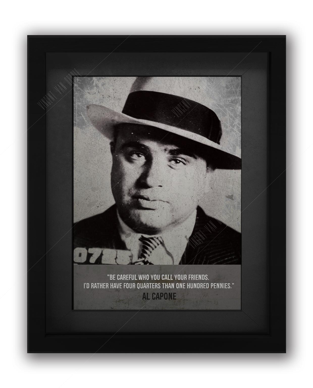 Al Capone Mugshot Print