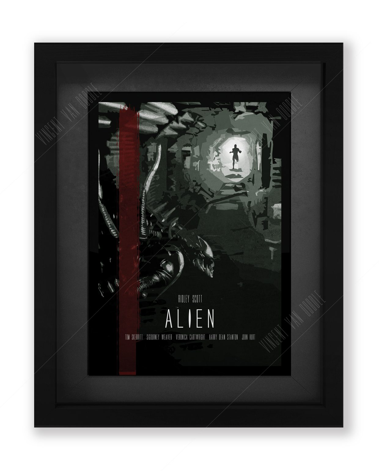 Alien-framed