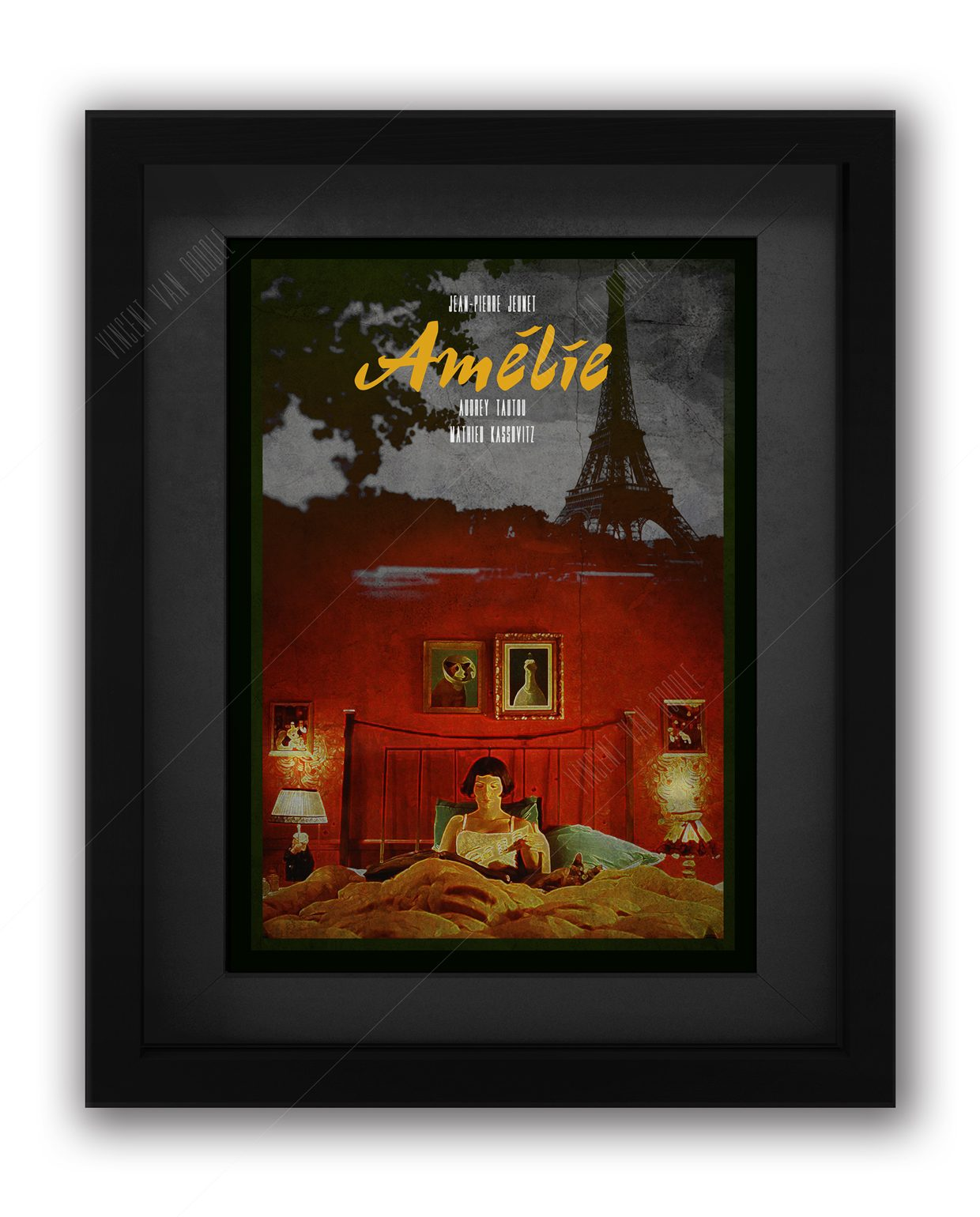 Amelie-Movie-Poster-Framed
