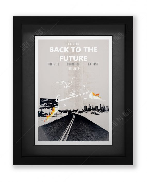 Back-to-the-Future-Framed