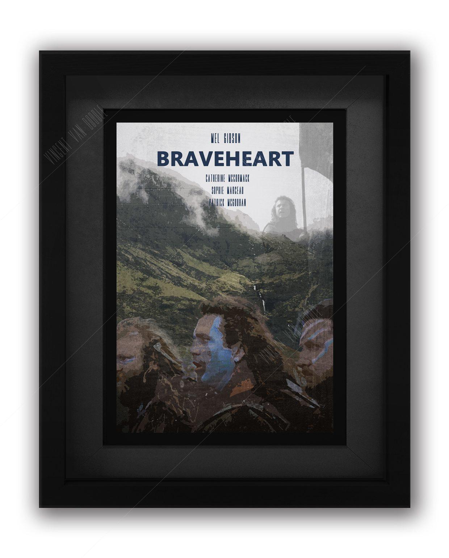 Braveheart-Framed