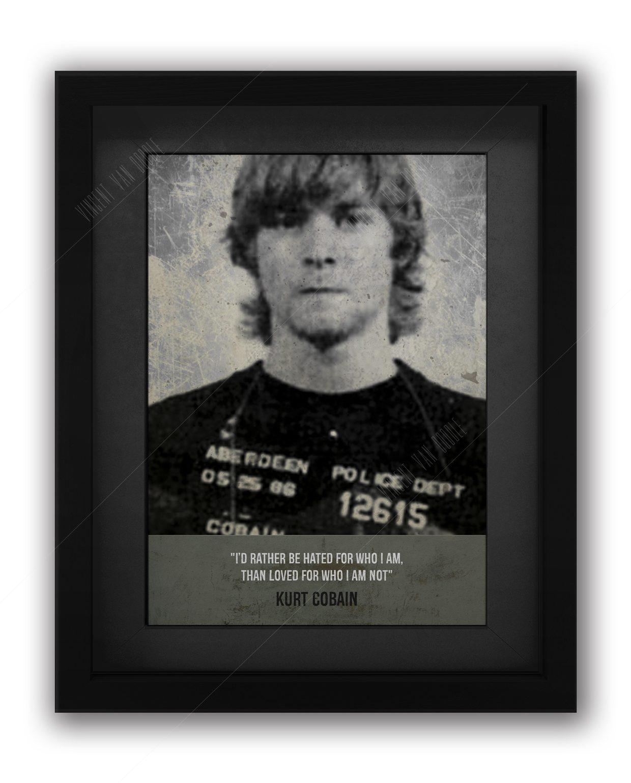 Cobain-Mugshot-Framed-Black