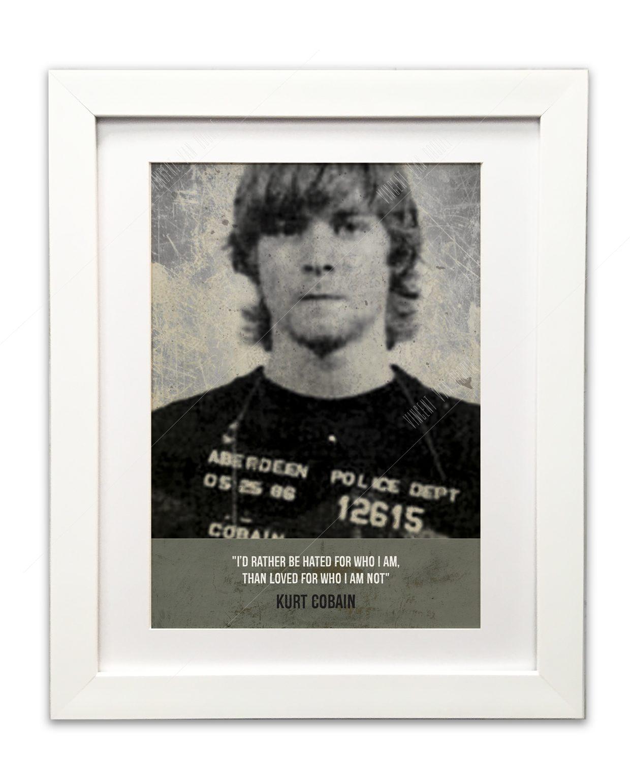 Cobain-WHite-framed
