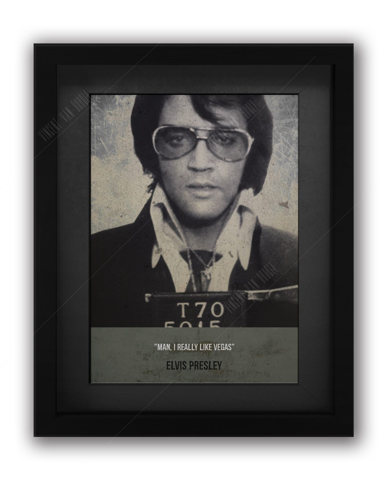 Elvis-Mughsot-framed-Black