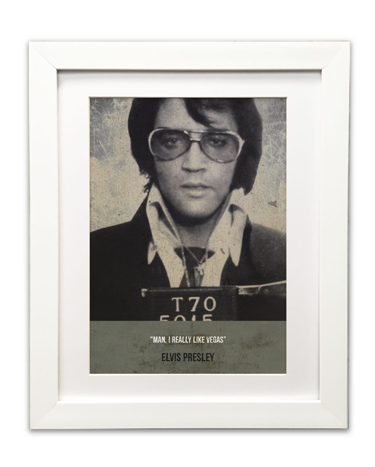 Elvis-Mugshot-framed-white