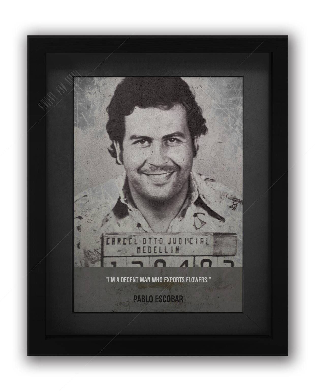 Pablo Escobar Mugshot Print