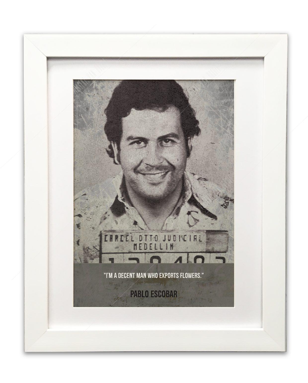 Escobar-white-framed