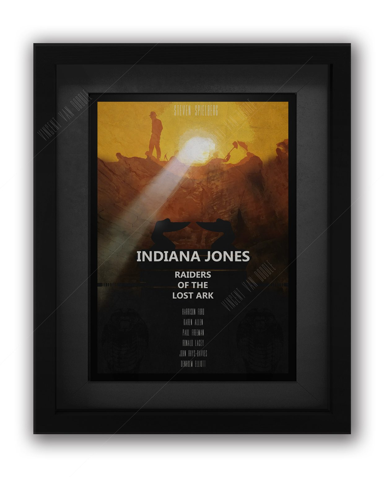 Indy-Raiders-Framed