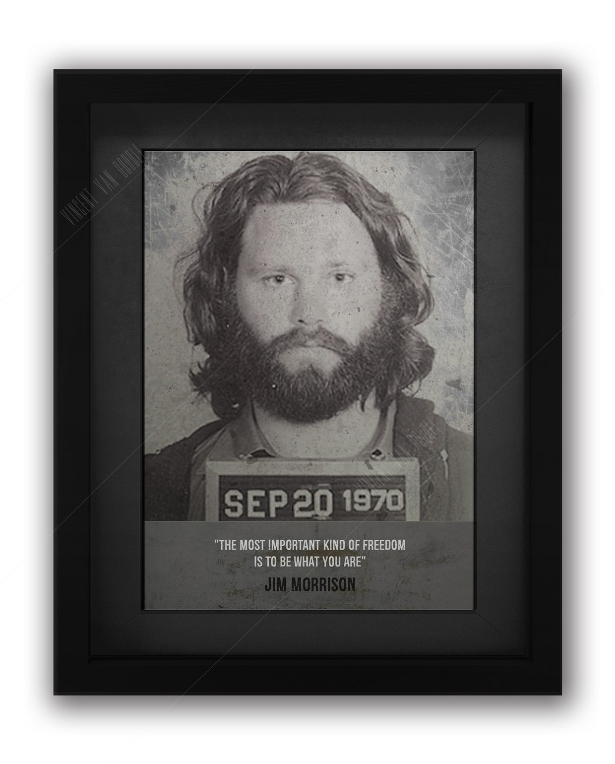Jim-Morisson-Mugshot-Black-Frame