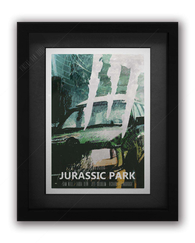 Jurassic-Park-Framed