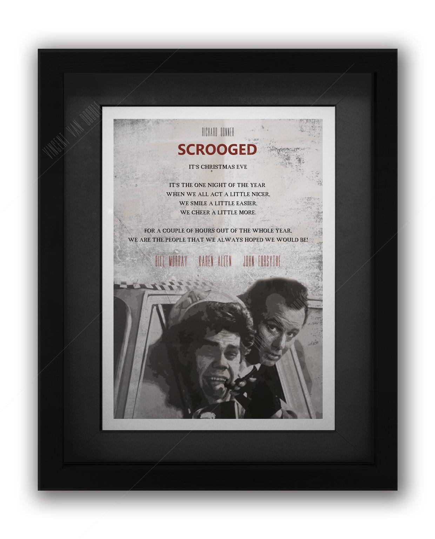 Scrooged-framed