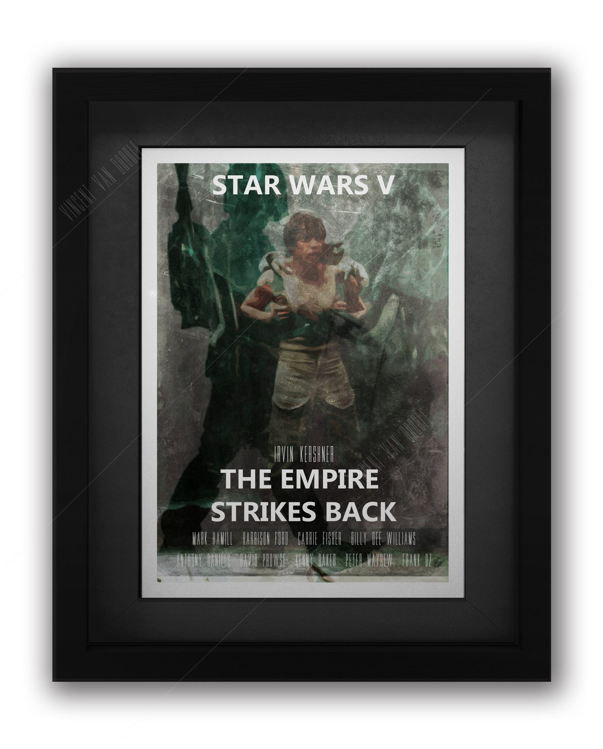 Star-Wars-the-Empre-Strikes-Back-Framed