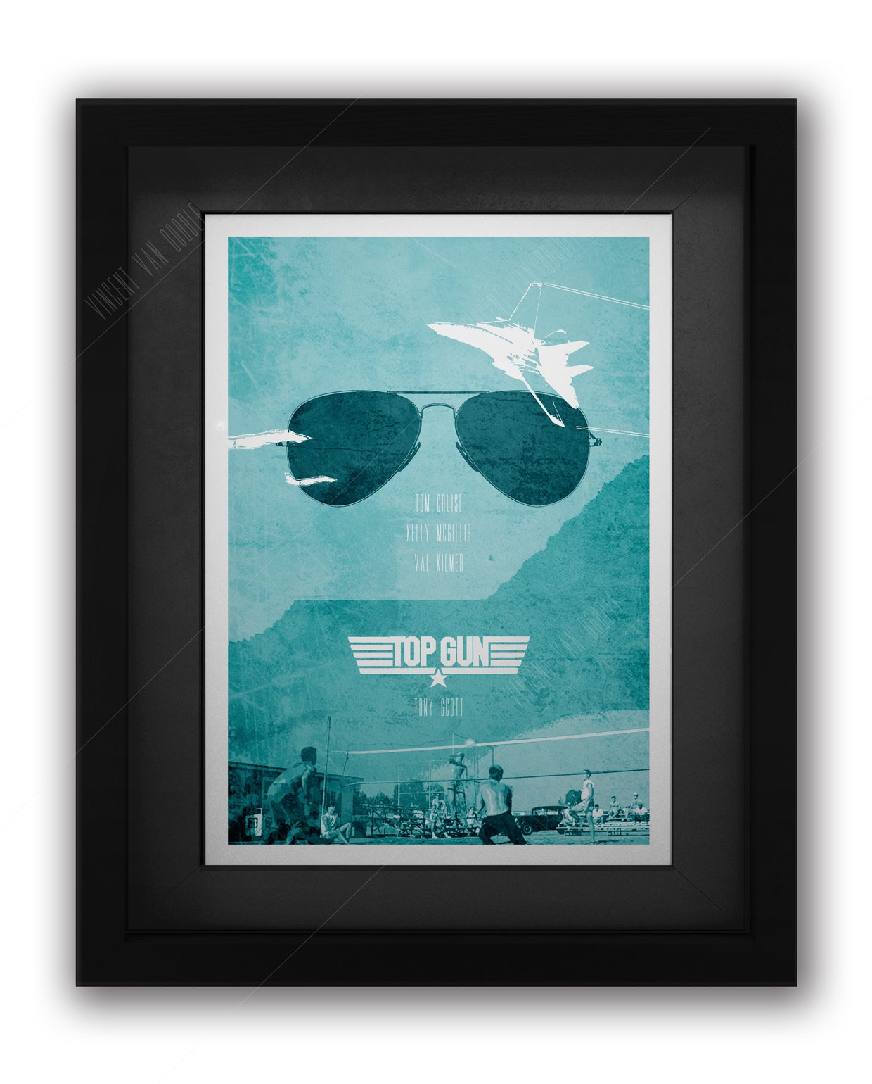 Top-Gun-Framed