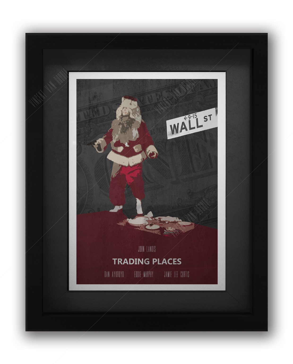 Trading-Places-Framed