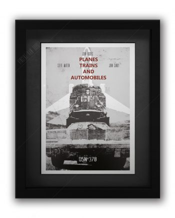 Trains Planes and Automobiles Movie Poster