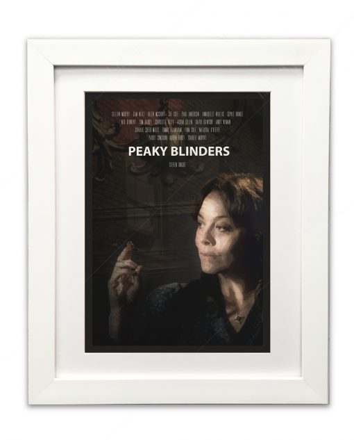 Aunt Polly Peaky Blinders Art Print