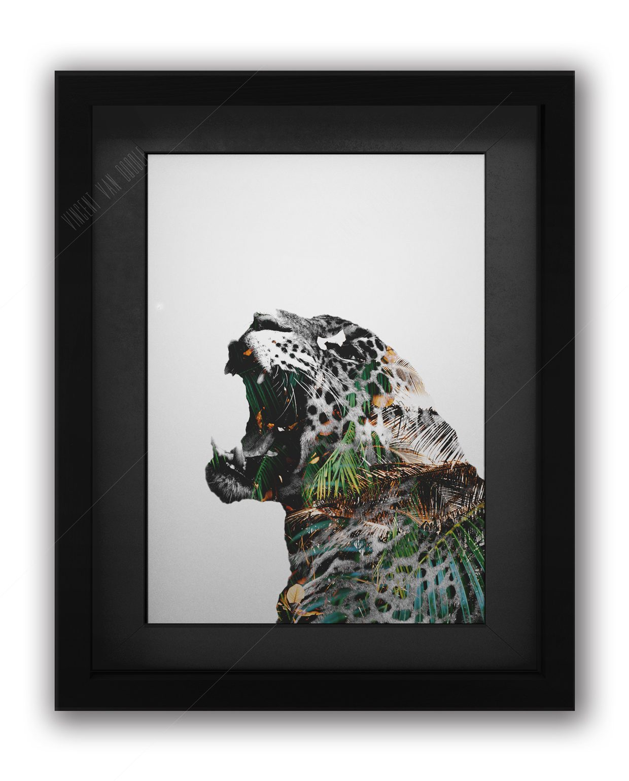 Leopard-Green-and-Gold-Black-Frame