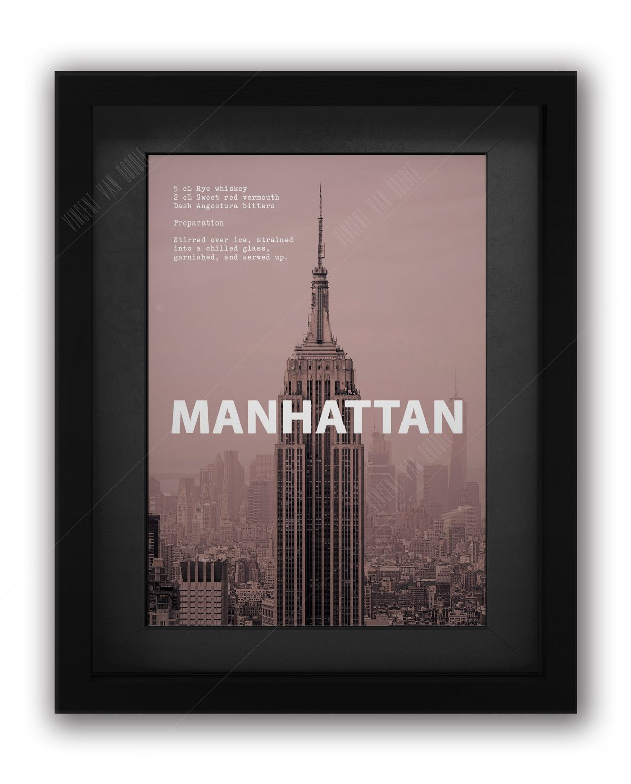 Manhattan-Framed-Black