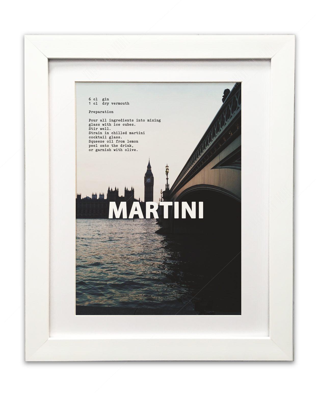 Martini-Framed-White