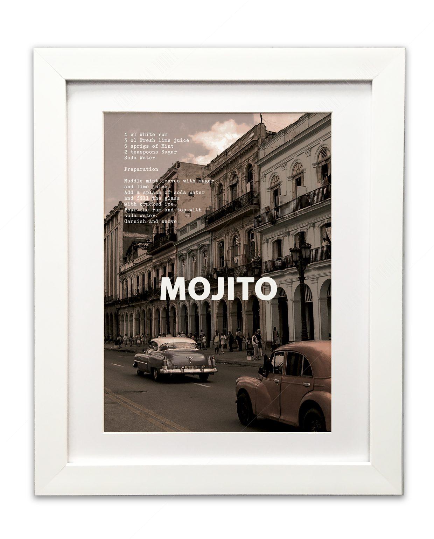 Mojito-Framed-White