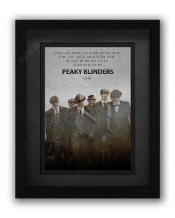 Peaky Blinders Gang Print