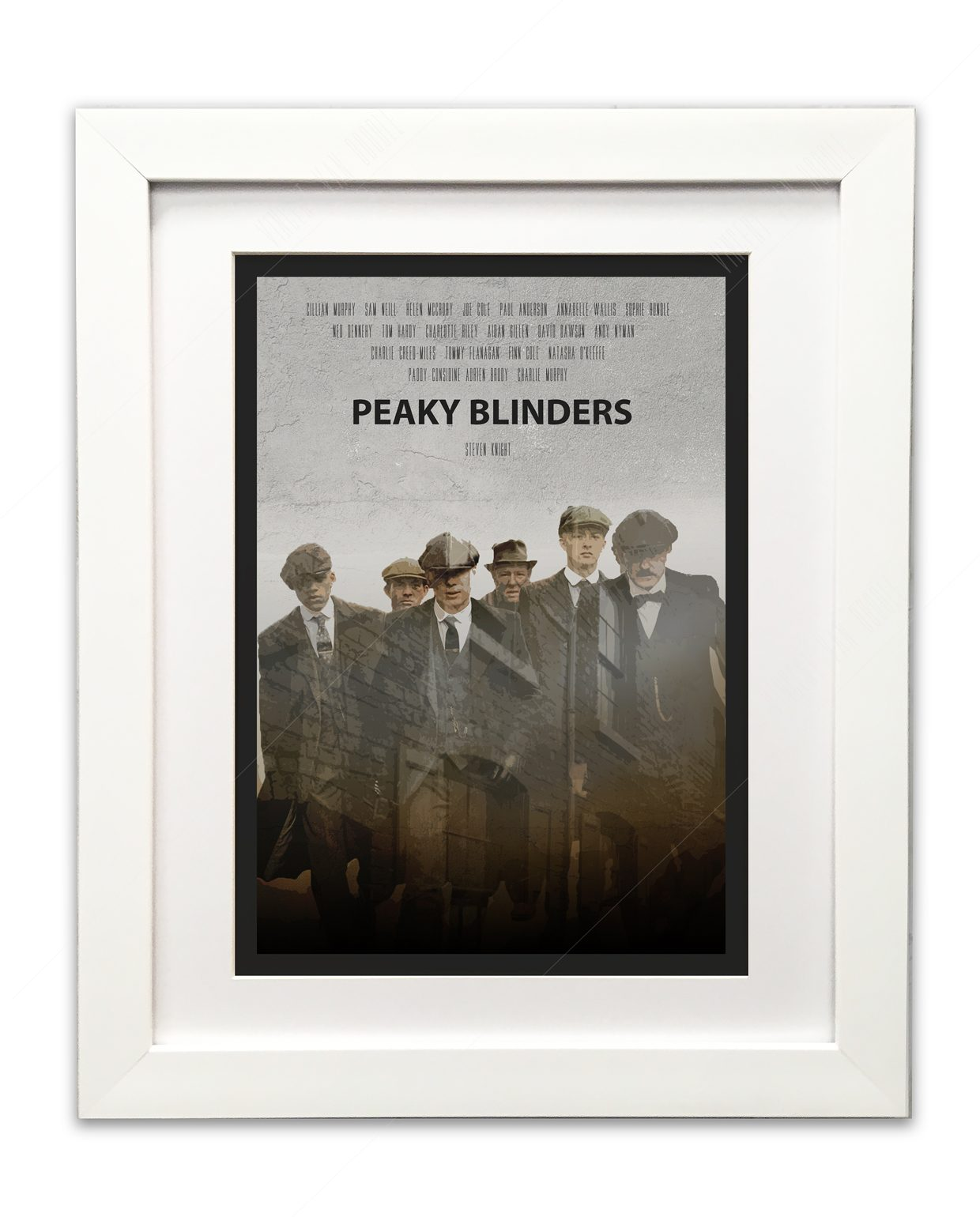 Peaky-Blinders-Framed-White
