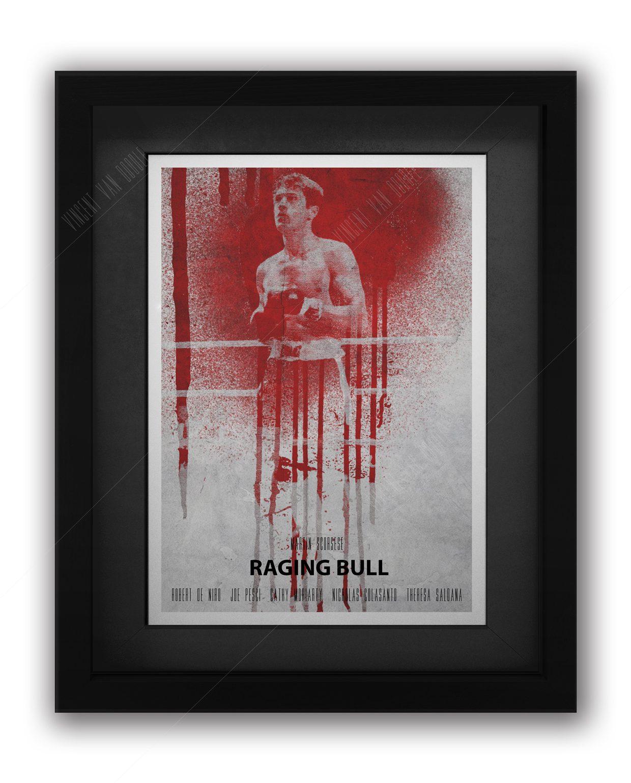 Raging-Bull-Framed-Black