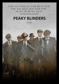 Peaky Blinders Art Poster