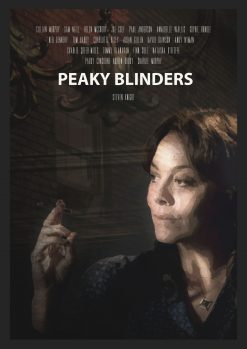 Polly Shelby Peaky Blinders Art Poster